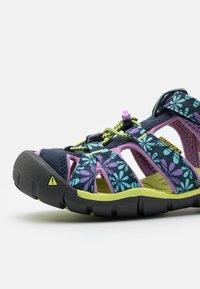 Keen - SEACAMP II CNX UNISEX - Chodecké sandály - black iris/african violet - 5