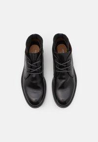 Lloyd - ONDO - Lace-up ankle boots - schwarz/darkgrey - 3