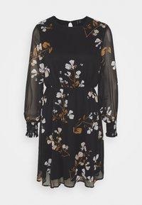 Vero Moda - VMSMILLA DRESS  - Day dress - black/hallie - 0