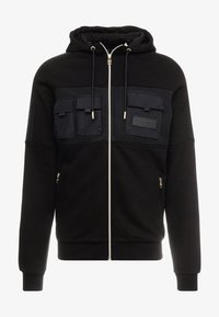 Glorious Gangsta - GALIS UTILITY HOOODIE - Zip-up hoodie - black - 6