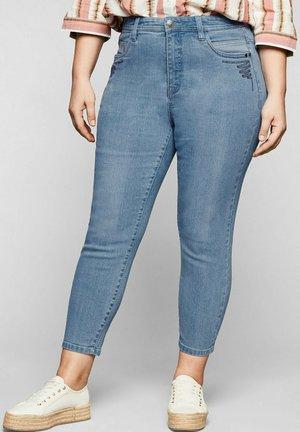 Jean slim - light blue used denim