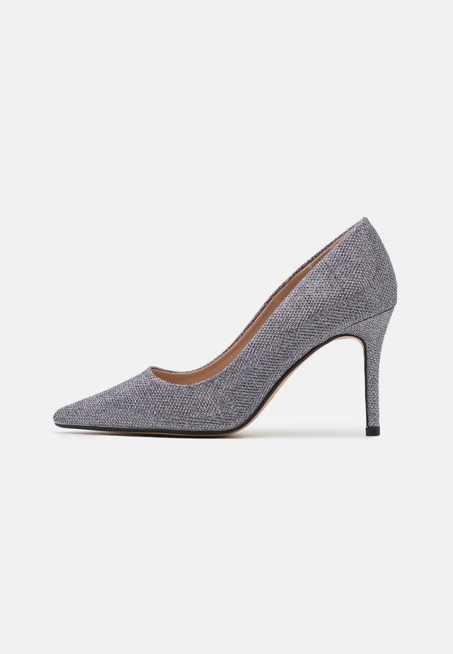 DELE SHIMMER COURT - High heels - pewter