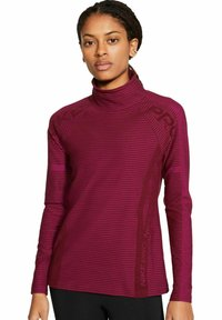 Nike Performance - PRO HYPERWARM - Sweatshirt - bordeaux - 0