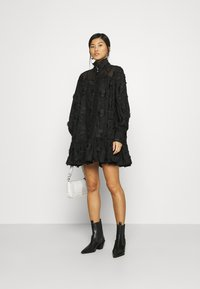 Custommade - ELORIE - Day dress - anthracite black - 1
