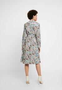 Ivko - DRESS FLORAL PATTERN PRINT - Shirt dress - off-white - 0