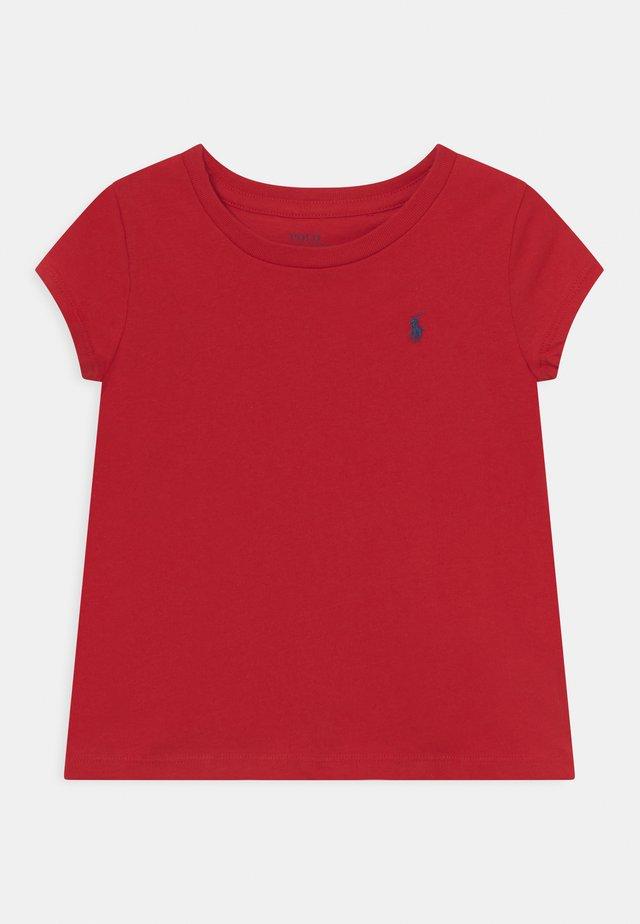TEE - Basic T-shirt - red