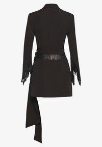 LEXI - AKILA JACKET DRESS - Shirt dress - black - 1
