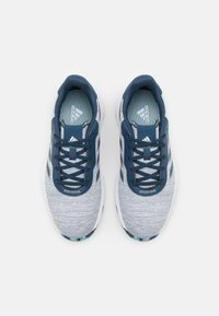 adidas Golf - S2G LACE - Golf shoes - crew navy/footwear white/hazy sky - 3