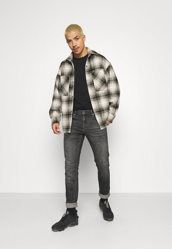 Cars Jeans BATES - Jeansy Slim Fit - black/czarny Odzież Męska XRAM