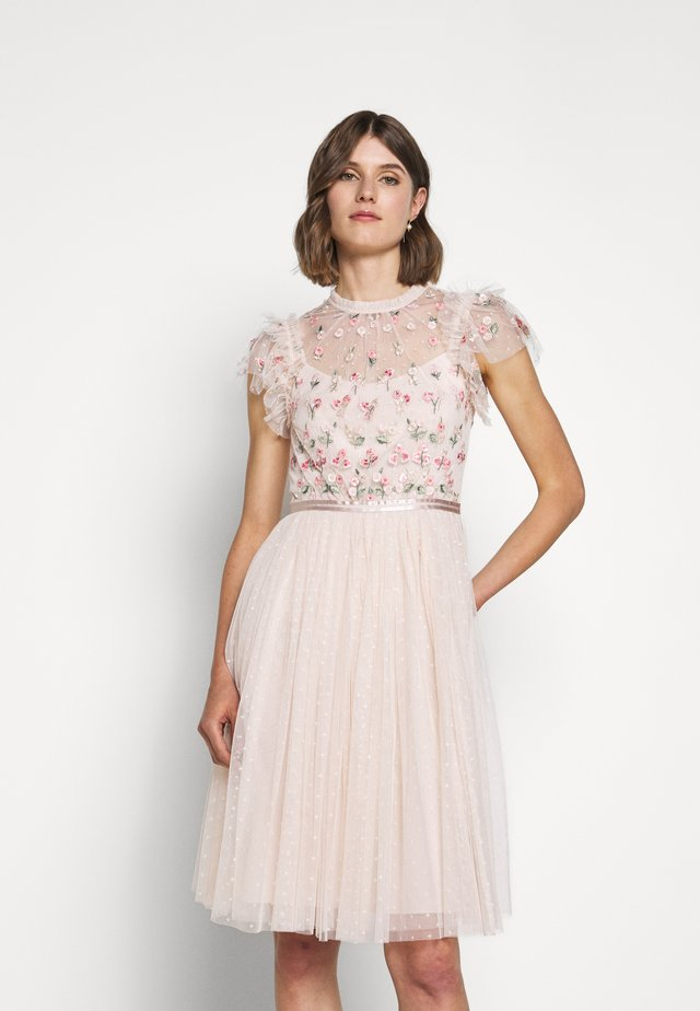 ROCOCO BODICE MIDI DRESS EXCLUSIVE - Cocktailjurk - ballet slipper