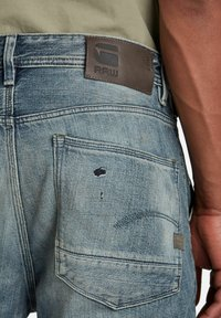 G-Star - GRIP 3D RELAXED TAPERED - Jean boyfriend - faded bay burn destroyed - 3