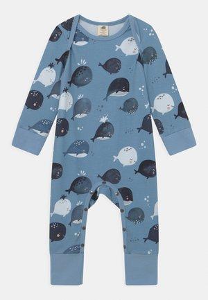 WHALE UNISEX - Pyjama - blue