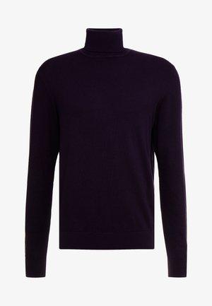 Strikpullover /Striktrøjer - dark purple