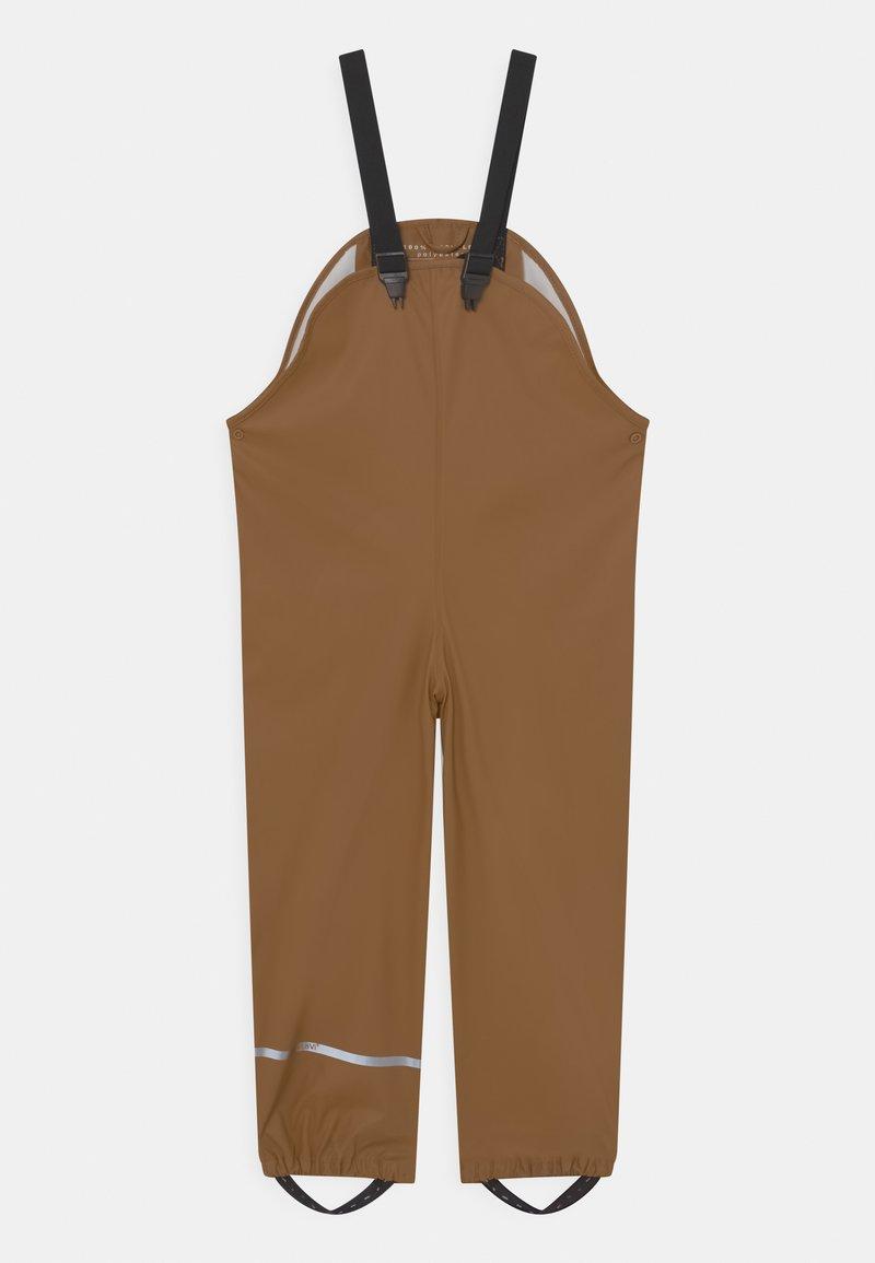 CeLaVi - BASIC RAIN UNISEX - Rain trousers - mustard yellow