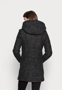 ONLY - Klasický kabát - black/melange - 2