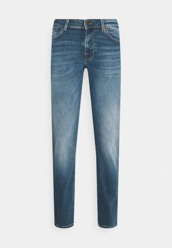 SLHSTRAIGHT SCOTT - Jeans straight leg - medium blue denim