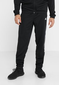 adidas Performance - ATHLETICS TEAM SPORTS TRACKSUIT - Tracksuit - black/white - 3