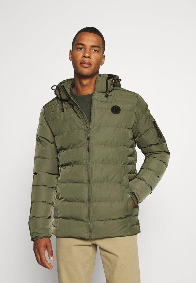 SUMNER - Winter jacket - army