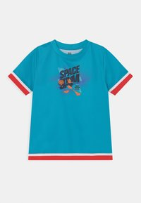 Outerstuff - SPACE JAM JUMP BALL TEE UNISEX - T-shirt con stampa - teal - 0