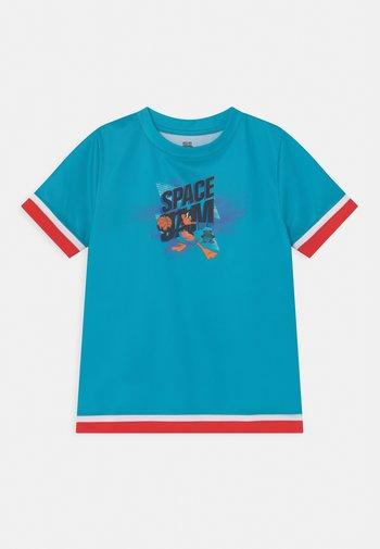 SPACE JAM JUMP BALL TEE UNISEX - Print T-shirt - teal