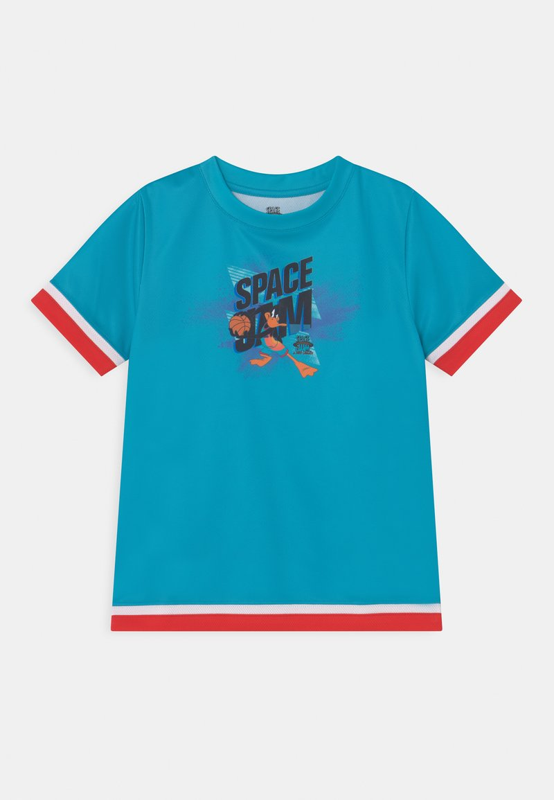 Outerstuff - SPACE JAM JUMP BALL TEE UNISEX - T-shirt con stampa - teal
