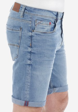 RIVUDO - Denim shorts - light blue denim