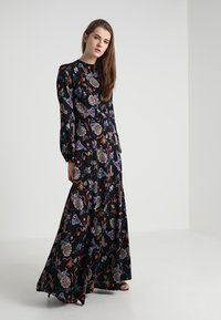 IVY & OAK - PRINTED LONG EVENING DRESS - Occasion wear - black - 1