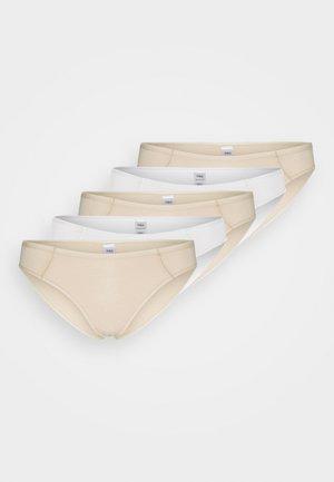 5 PACK - Kalhotky - nude mix