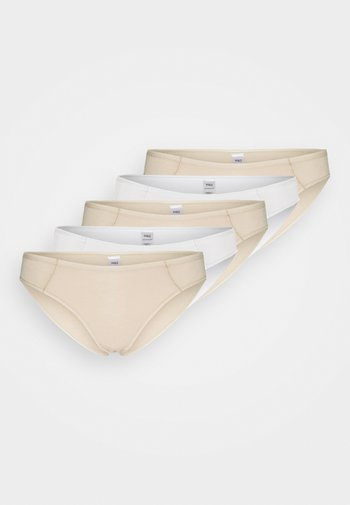 5 PACK - Underbukse - nude mix