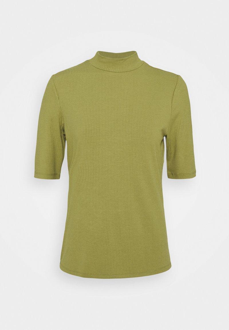Vila - VISOLITTA FUNNELNECK - T-shirt basique - green olive