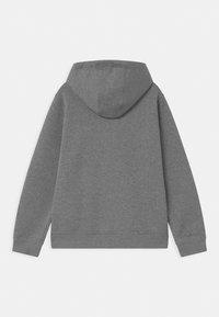 Nike Sportswear - PLUS HOODIE CLUB - Sweater met rits - carbon heather/white - 1