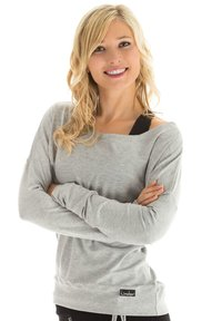 Winshape - LONGSLEEVE - Sweatshirt - grey melange - 0