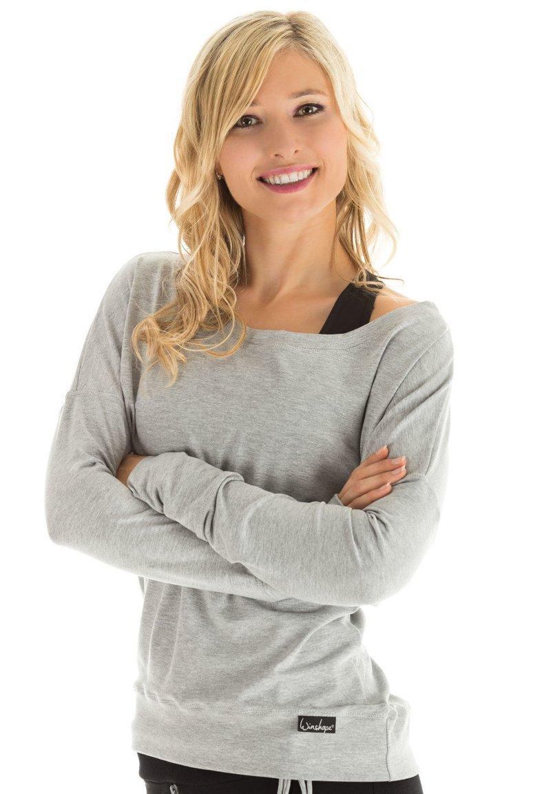 Winshape - LONGSLEEVE - Sweatshirt - grey melange