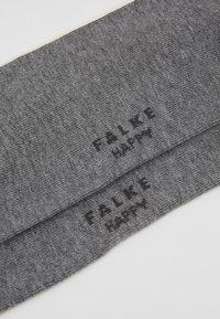 Falke - Happy 2-Pack Socks - Strumpor - mottled grey - 2