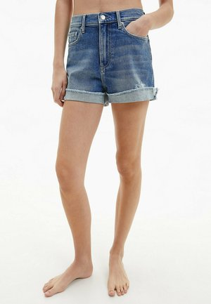 Denim shorts - denim medium