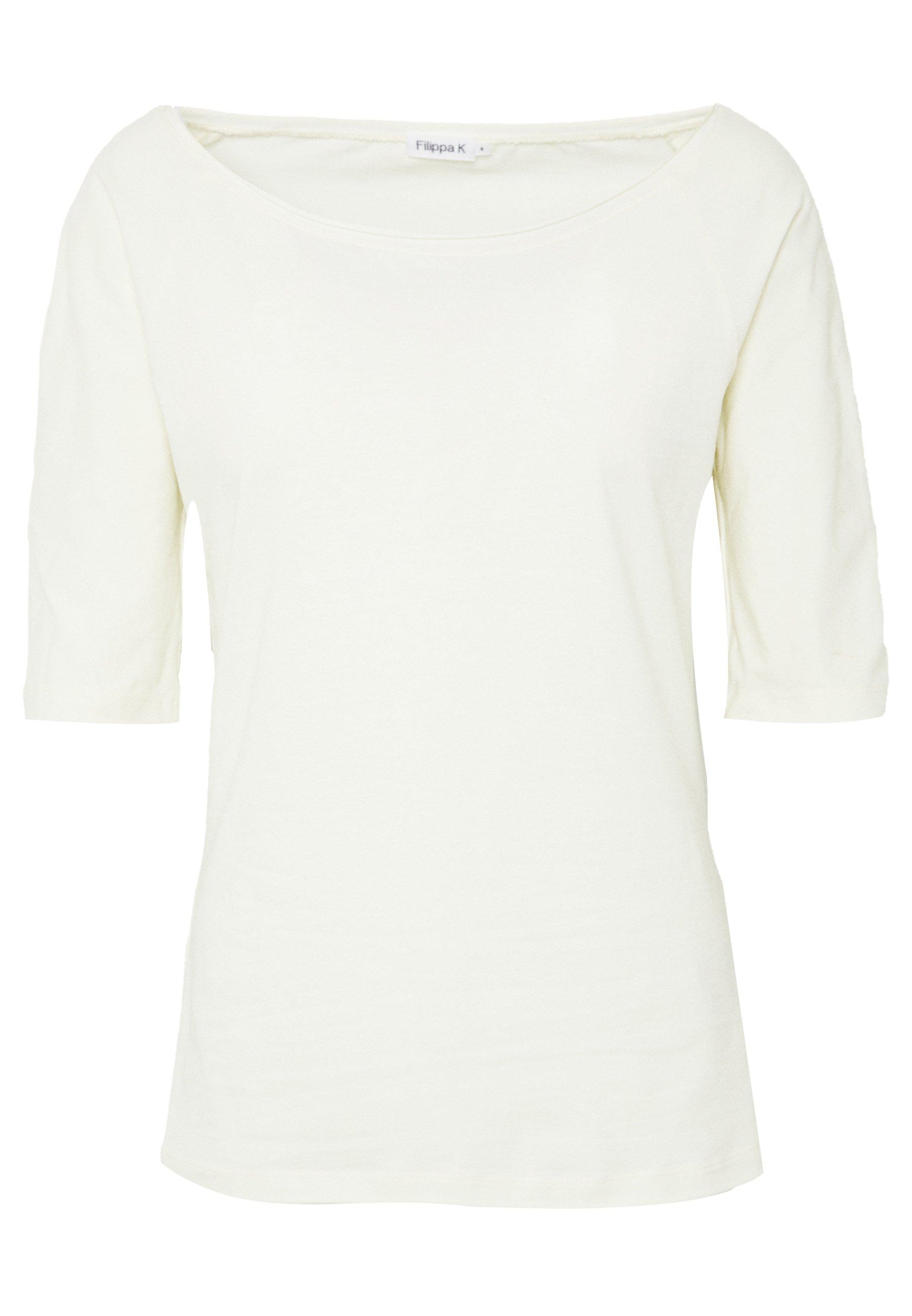 Filippa K BALLERINA SLEEVE  - T-shirts - dove blue