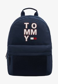 Tommy Hilfiger - KIDS BACKPACK - Reppu - blue - 1