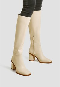 PULL&BEAR - Boots - beige - 0