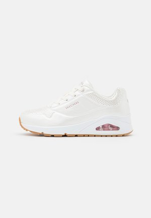 UNO - Sneakers laag - white/light pink