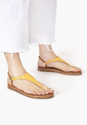 Sandalias de dedo - mustard msd