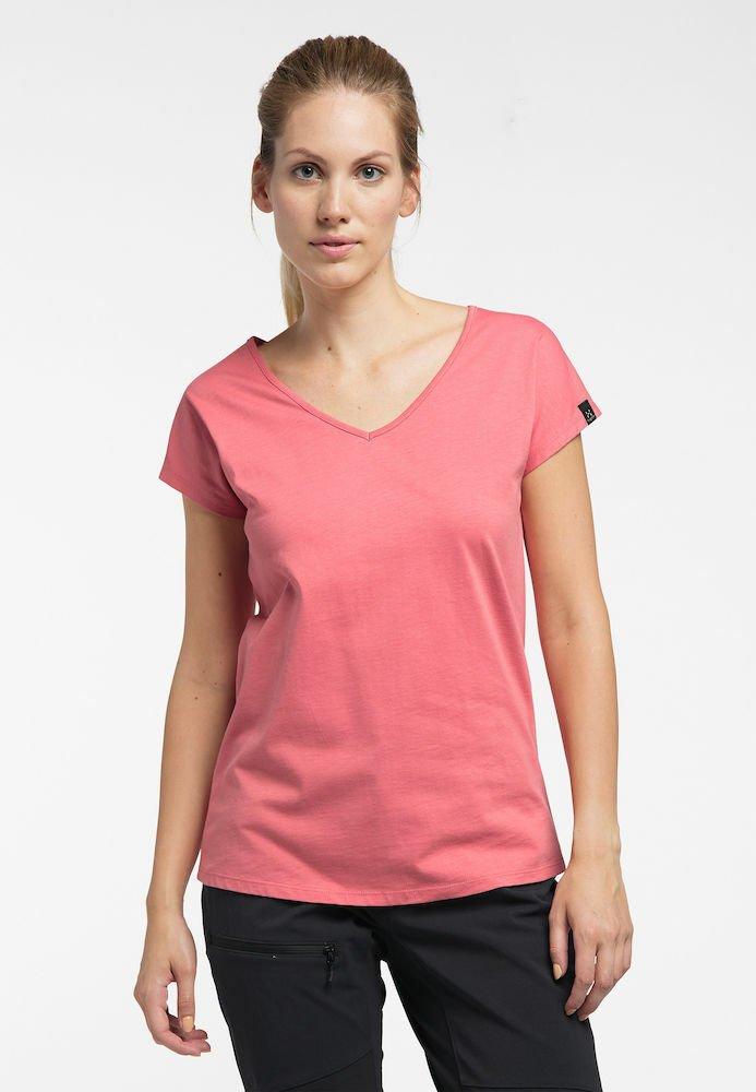 Haglöfs - FUNKTIONSSHIRT CAMP TEE - Basic T-shirt - rusty pink