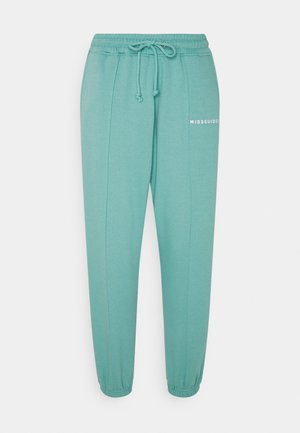 SEAM DETAIL 90S JOGGER - Tracksuit bottoms - teal