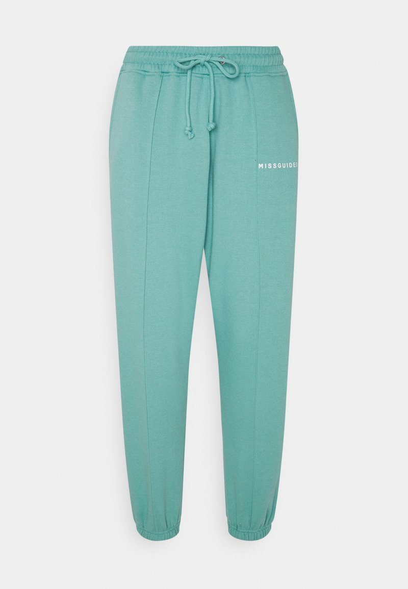 Missguided Petite - SEAM DETAIL 90S JOGGER - Tracksuit bottoms - teal