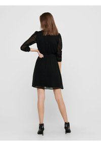 ONLY - LOCKER GESCHNITTENES - Day dress - black - 2