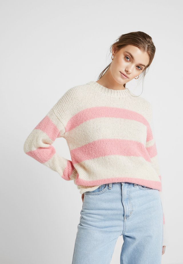 TILLE - Sweter - amazing pink