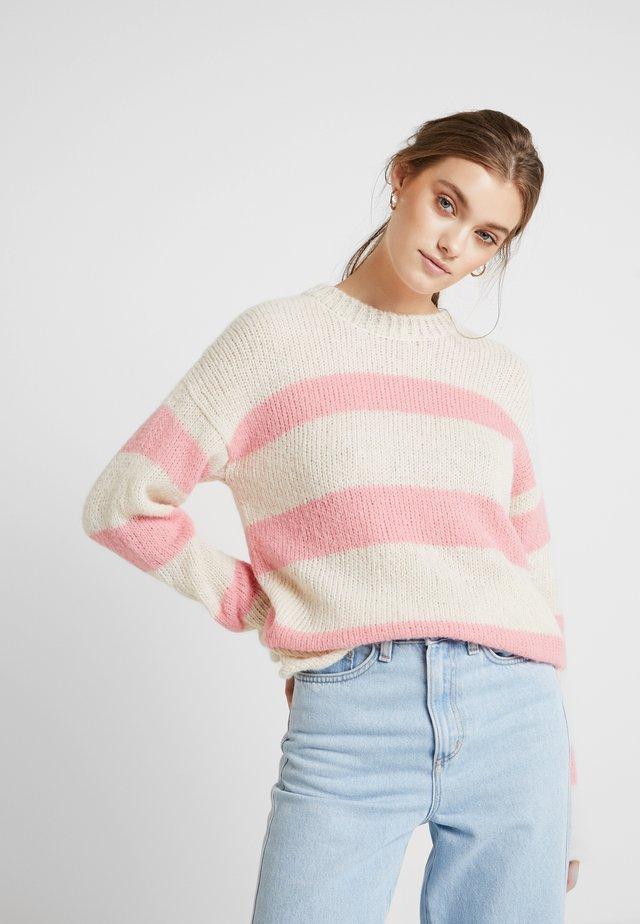 TILLE - Strikkegenser - amazing pink