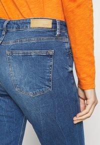 Esprit - Straight leg jeans - blue dark wash - 5