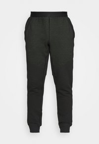 PANT - Tracksuit bottoms - black/mean green