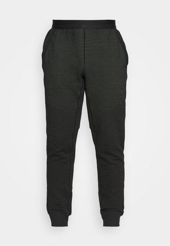 PANT - Træningsbukser - black/mean green