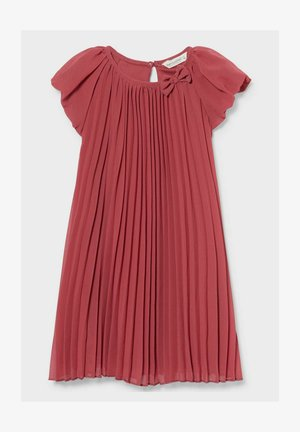 Day dress - red / cremewhite